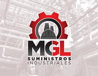 MGL Suministros Industriales Logo Design