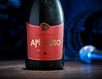 Aplauso || Sparkling Wine Packaging Design
