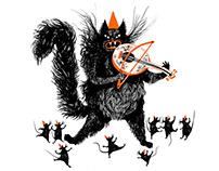 Mysie harce // Mice gambol