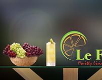 Le fruitte Branding