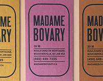MADAME BOVARY branding