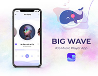 BIG WAVE: iOS Music Player App