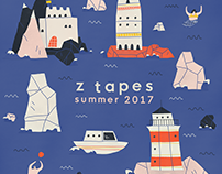 Z Tapes summer compilation cover