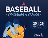 Baseball - Challenge de France 2017