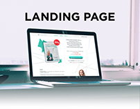 "Diary ""Life navigator"" - Landing Page Design"