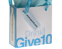Drink 1, Give 10 Gift Bag