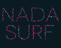 Nada Surf Paint Poster