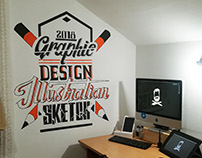 TYPOGRAPY MURAL