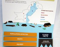 Flood Affectees Pop up / Interactive Infographic
