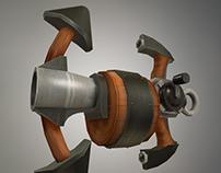 Anchor gun