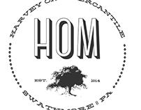 Harvey Oak Mercantile Website and Logo Design