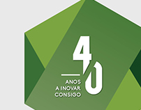 ANF 40 ANOS :: BRANDING // GRAPHIC DESIGN