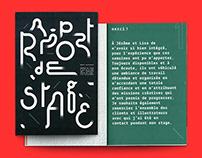 Rapport de stage / Studioburo / 2018