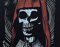 Sancta Mors (Holy Death) Screenprint