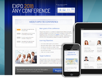 Expo'18 Responsive Event/ Conference Landing Page