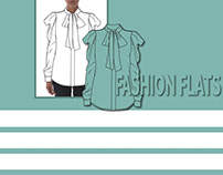 Fashion Flat template set