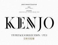 KENJO FONTS | PT. I