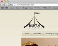 Muyan Suites Web site