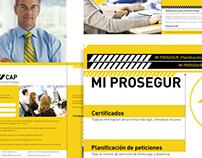 Web y otras piezas para Prosegur