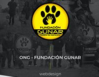 Fundación Gunar // diseño web