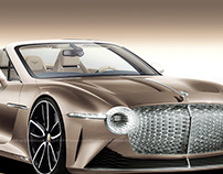 2020 Bentley EXP 100 GT Convertible