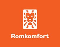 Romkomfort | Brand Identity