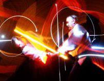 Aikido light-painters....