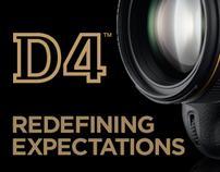 Nikon D4 Announcement - email