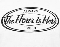 The Hour is Here Graphic Tee