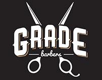 GRADE Barbers Logo Design