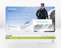 Deloitte Careers Microsite