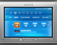 SIRIUS Satellite Radio Concept