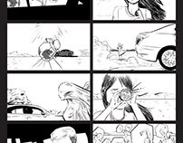 Lexus Motors Commercial Storyboards