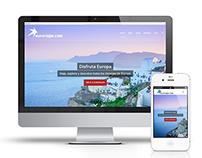 Euroviajar.com Web Design