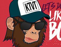 Estampa Caneca o Ano do Macaco
