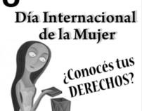Volante Derechos de las Mujeres 2012