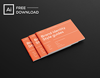 Free Brand identity guidelines template