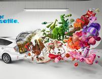 Toyota Prius-V USA campaign.