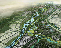 Masterplan Wei River, Xi'an China 2011