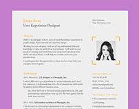Free Clean Elegant Resume Template