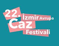 22nd Izmir Europe Jazz Festival Poster Work