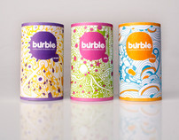 Burble- Coloured buble bath for kids