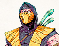 Scorpion - Concept Art by Me