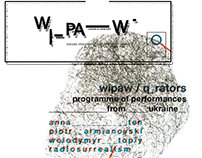 WIPAW logo and identity