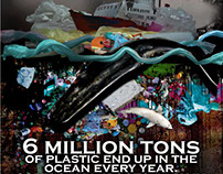 6 million tons of plastic