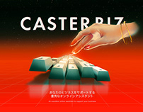 Caster Biz Illustrations