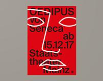 Staatstheater Mainz – Seneca (Poster)