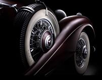 Classic Mercedes-Benz fine art photography