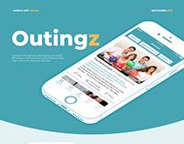 Outingz iOS mobile application