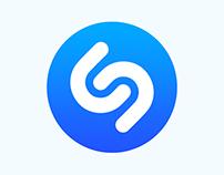 Shazam. Web concept